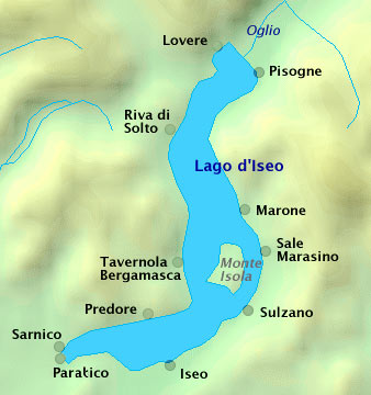 URLAUB in der ISEO SEE - LOMBARDEI